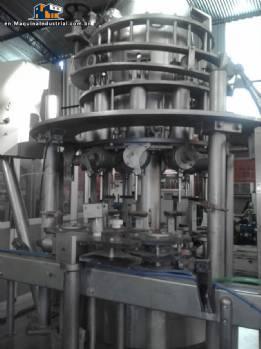Rotary filling  10 nozzles Mesal