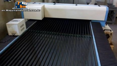 Laser cutting and engraving machine Vesta