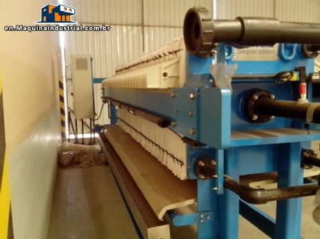 Andritz filter Press