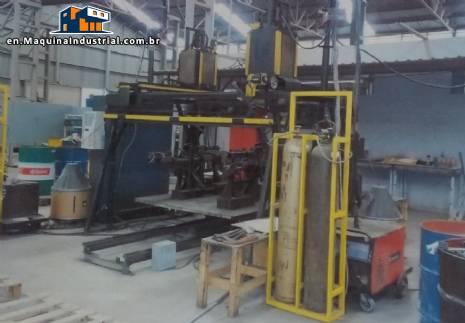 Metal profile production line