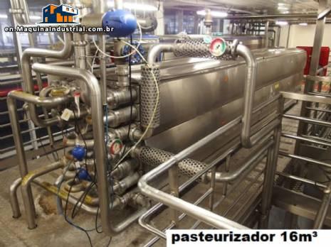 Tubular pasteurizer 16.000 L Tetra Pak