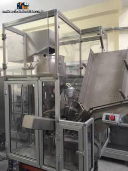 Filling machine for aluminum pharmaceutical tubes Comadis