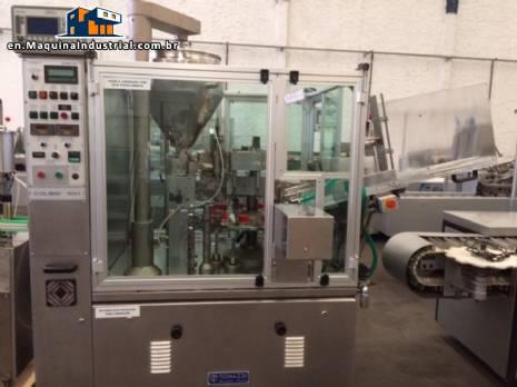 Metal cosmetic tube filling machine TONAZZI