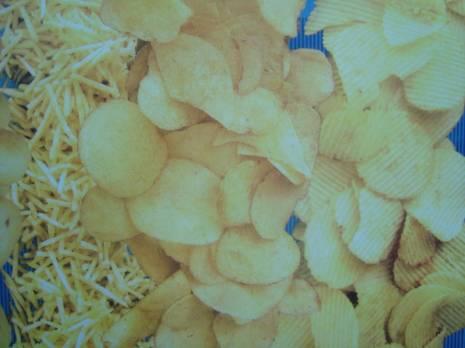 Line of chips for 250 kg