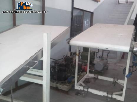 Conveyor belts / power mark Pavan in stainless steel